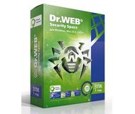 ПО Dr.Web Security Space 3 ПК/1 год  AHW-B-12M-3-A3/BHW-B-12M-3-A3