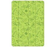 Чехол-подставка Deppa Wallet Onzo для iPad 9.7, зеленый, с тиснением  88035