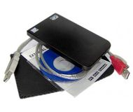 "Внешний корпус AgeStar  SUB2O1  USB 2.0, 2.5"", алюминий, черный"
