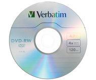 Диск DVD-RW Verbatim 4,7Gb 4x
