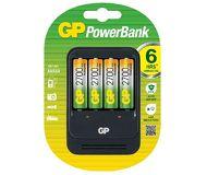 Зарядное устройство GP PB27GS270-2CR4 + 4 аккумулятора AA 2700mAh