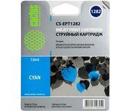Чернила CACTUS  CS-EPT1282  голубой for S22/S125/sX420 (7мл)