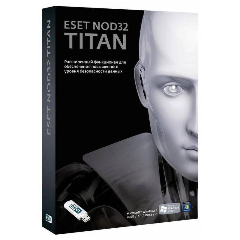 ПО ESET NOD32 Titan 3ПК/1год Box [NOD32-EST-NS(BOX2)-1-1]