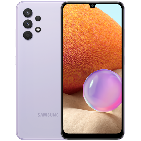 Смартфон Samsung Galaxy A32 SM-A325F 4/64 ГБ фиолетовый