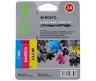 Картридж струйный CACTUS  CS-BCI24CL  цветной (DCI-24)