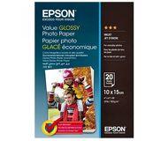Фотобумага Epson 10x15, 20л., глянцевая [C13S400037]