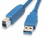 Кабель USB 3.0 Am-Bm 3м VCOM