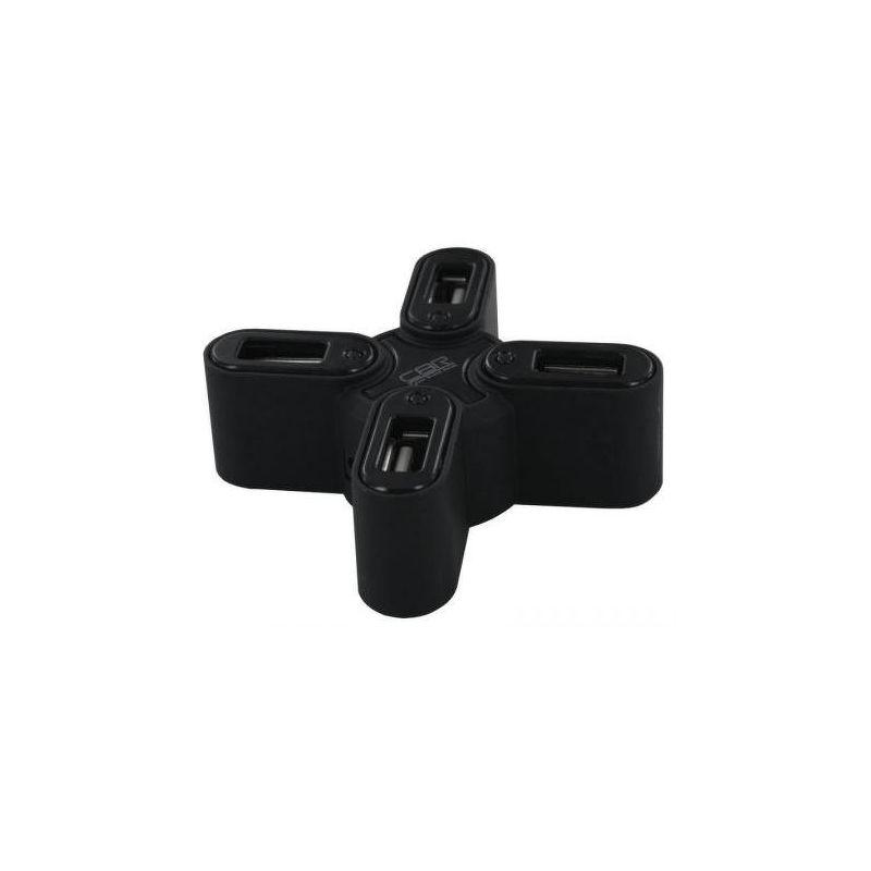 Хаб CBR CH-133, 4 порта, USB 2.0, черный