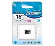 Карта памяти microSDHC 16 ГБ Smartbuy [SB16GBSDCL10-00] Class 10