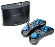 Игровая приставка SEGA Magistr Drive X черная + 160 встроенных игр, 2 геймпада