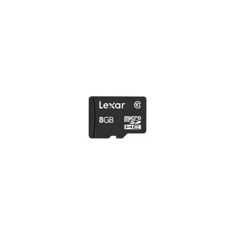 Флеш карта microSDHC 8Gb Lexar Class 10 LSDMI8GBABEUC10A