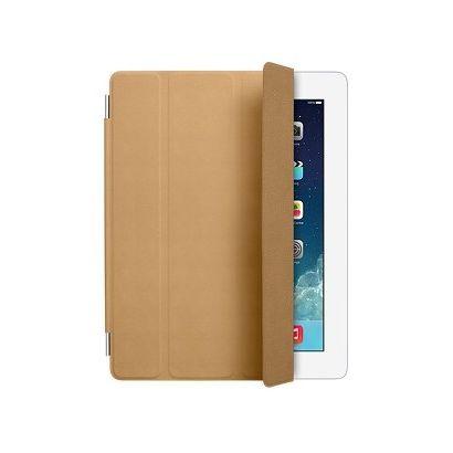 Чехол Apple iPad 2/3/4 Smart Cover кожа коричневый [MD302ZM/A]