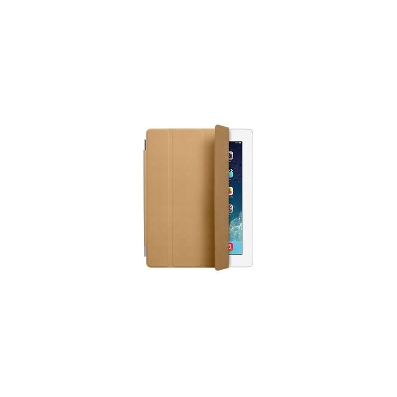 Чехол Apple iPad 2/3/4 Smart Cover кожа коричневый  MD302ZM/A