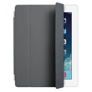 Чехол Apple iPad mini 1/2/3 Smart Cover полиуретан серый  MD963ZM/A