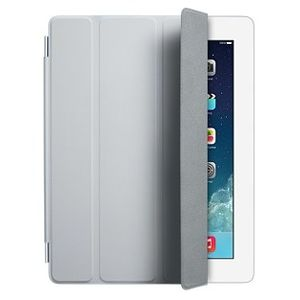 Чехол Apple iPad 2/3/4 Smart Cover полиуретан светло-серый  MD307ZM/A