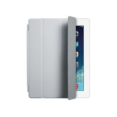 Чехол Apple iPad 2/3/4 Smart Cover полиуретан светло-серый [MD307ZM/A]