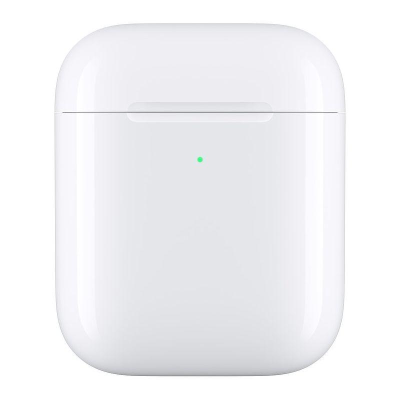 Футляр с возможностью беспроводной зарядки для Apple AirPods 1/2 [MR8U2ZM/A]