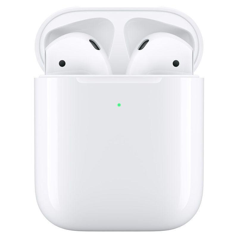 Гарнитура Apple AirPods 2 беспроводная, с беспроводным зарядным футляром [MRXJ2]