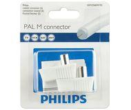 Комплект разъемов Philips SWV2560W/10 (M+M) 2шт,угловые