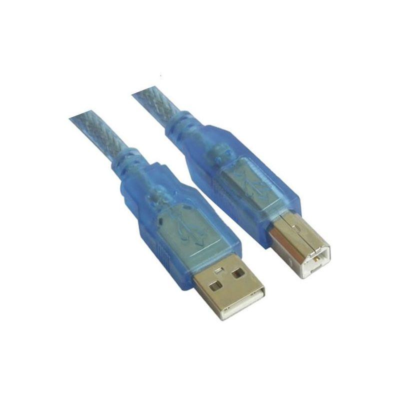 Кабель USB 2.0 Am-Bm 5м VCOM [CU201-TW-5.0M]