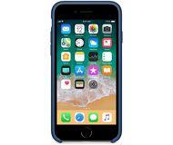 Чехол Apple Silicone Case для  iPhone 7/8 , синий  MQGN2  реплика