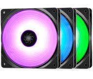Вентилятор DeepCool RF 120 120мм   DP-FRGB-RF120-3C  RGB Kit 3x1