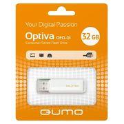 Флешка USB 32 ГБ QUMO USB2.0 Optiva 01 Black QM32GUD-OP1-black