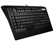 Клавиатура SteelSeries APEX Raw черный, USB (64133)
