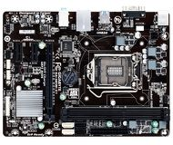 Мат.плата LGA1150 Gigabyte  GA-H81M-S1  mATX (H81, 2xDDR3, AC`97 8ch, 2xUSB3.0, VGA) б/у