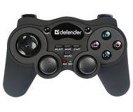 Геймпад Defender Game Racer Wireless, беспроводной, с виброотдачей, PC/PS1/PS2 (64252/64262)