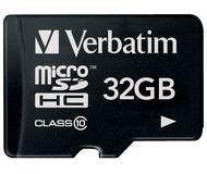 Флеш карта microSDHC 32Gb Verbatim Class 10 44083