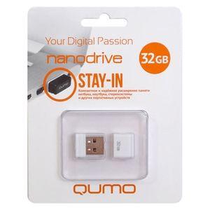 Флеш диск QUMO 32Gb Nano QM32GUD-NANO-W Белый