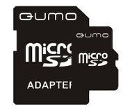 Флеш карта microSDHC 16Gb QUMO Class 4 QM16GMICSDHC4