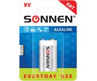 """Батарейка Sonnen 6LR61 """"Everyday use"""" 1шт. (Крона) (451092)"""