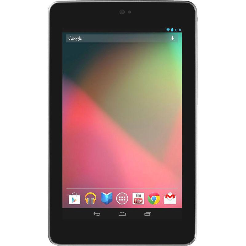 """Планшет Asus Google Nexus 7 16Гб 90OK0MW1100370U Черный (РСТ) """"Как новый"""""""