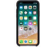 Чехол Apple Silicone Case для  iPhone X , черный  MQT12  реплика