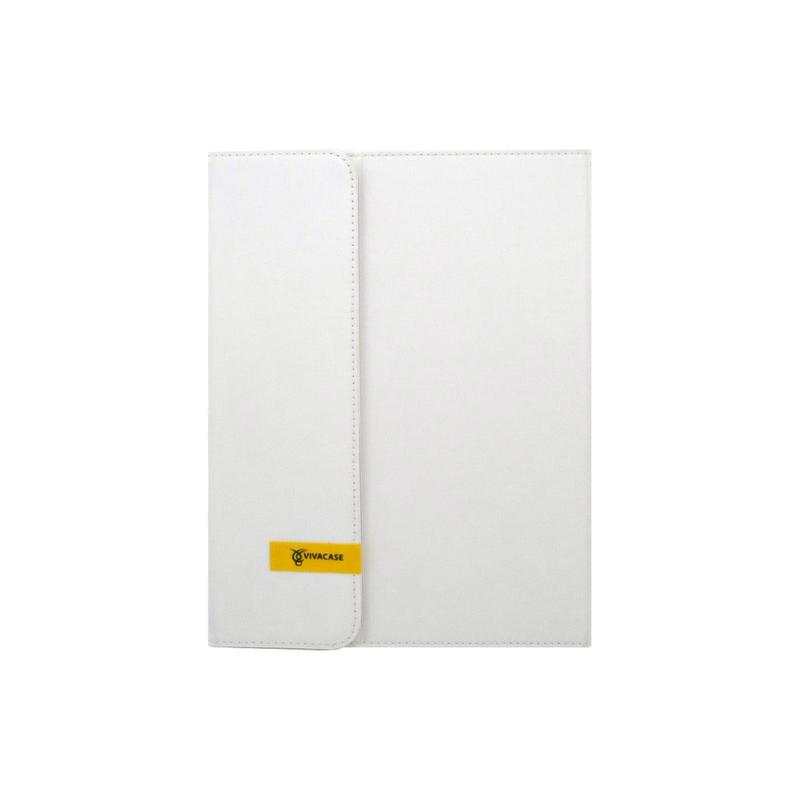 Чехол-клавиатура VIVACASE для  iPad Air  текстиль белый (VAP-AK00203-w)