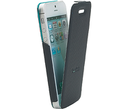 Флип-кейс Twitch iFlip Case для  iPhone 5/5S/SE , полиуретан, черный  MUTWIIP504