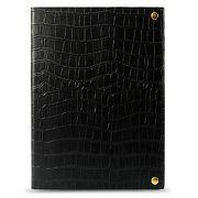 Чехол-книжка Melkco Crocodile Print для [iPad Air], кожа, черный