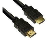 Кабель HDMI-HDMI 3м v1.4 VCOM 1080P 24K, черный