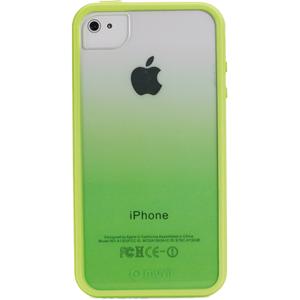 Накладка Muvit Sunglasses для  iPhone 5/5S  + пленка на экран, пластик, прозрачно-зелен.  MUBKC0566