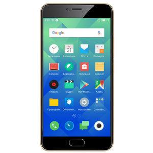 Смартфон Meizu M5 16Гб Золотистый (РСТ)