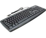 Комплект клавиатура + мышь Genius KM-100 проводной, черный