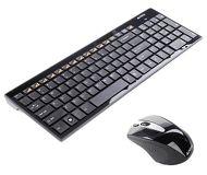 Комплект клавиатура + мышь A4Tech 9500F (GX-100+G9-500F) беспроводной, черный