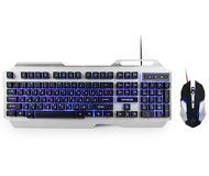 Комплект клавиатура + мышь Гарнизон GKS-510G проводной, черный/серый