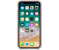 Чехол Apple Silicone Case для [iPhone X], розовый [MQT62] реплика