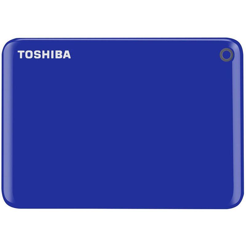 "Внешний жесткий диск Toshiba 1Tb HDTC810EL3AA CANVIO Connect II USB 3.0 2.5"" синий"