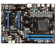 Материнская плата Soc-AM3+ MSI  970A-G43  ATX (A970, 4xDDR3, 2x PCI-Ex16, 2xPCI, 2xUSB3.0) б/у
