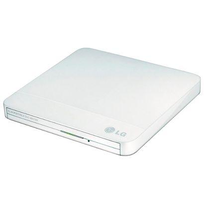 Привод DVD-RW LG USB [GP50NW41] белый, внешний