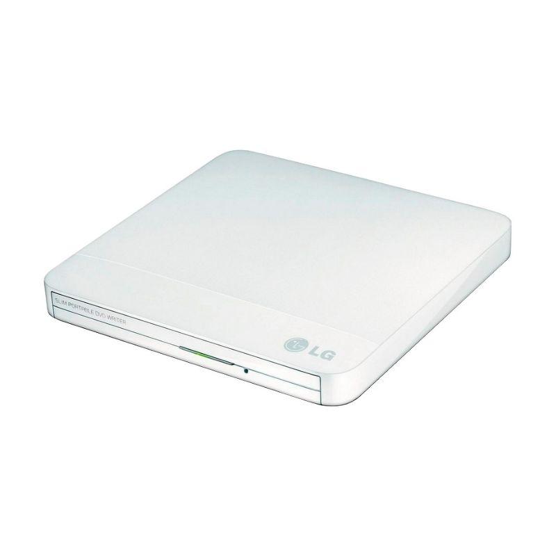 Привод DVD-RW LG USB  GP50NW41  белый, внешний
